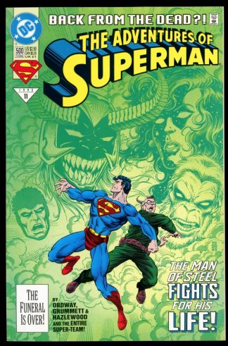 Adventures Of Superman - #500 - 06/93 - 9.2 - DC