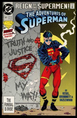 Adventures Of Superman - #501 - 06/93 - 9.0 - DC