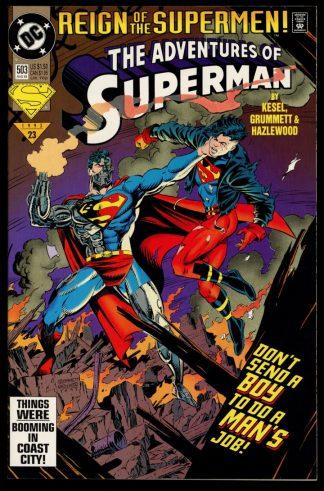 Adventures Of Superman - #503 - 08/93 - 9.4 - DC