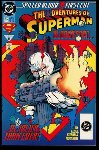 Adventures Of Superman - #507 - 12/93 - 9.2 - DC