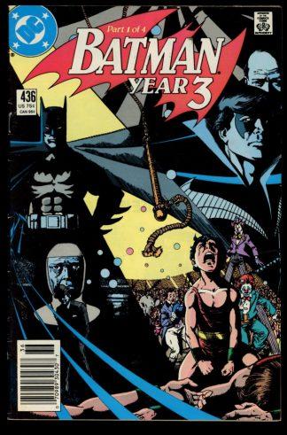 Batman - #436 - 04/89 - 4.0 - DC
