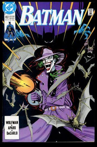 Batman - #451 - 07/90 - 9.2 - DC