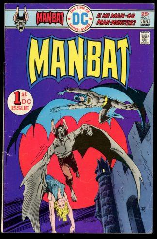 Man-Bat - #1 - 12-01/75-76 - 3.0 - DC