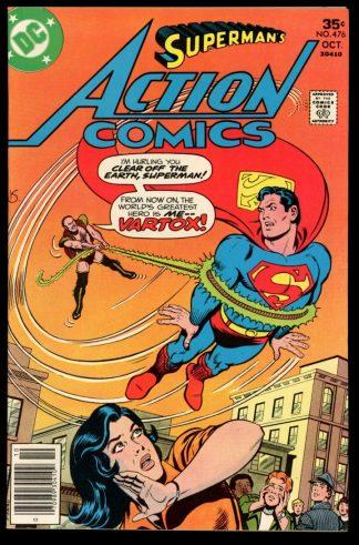 Action Comics - #476 - 10/77 - 9.0 - DC
