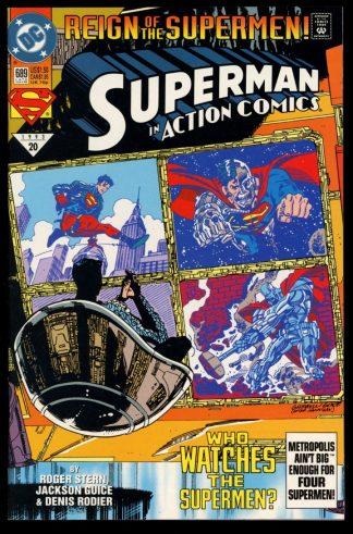 Action Comics - #689 - 07/93 - 9.2 - DC