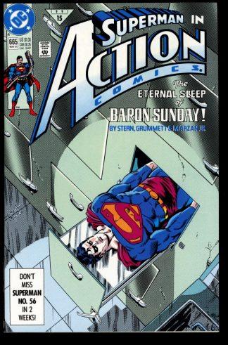 Action Comics - #665 - 05/91 - 9.2 - DC