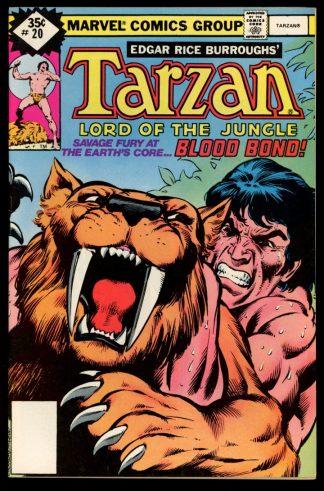 Tarzan - #20 – VARIANT - 01/79 - 8.0 - Marvel