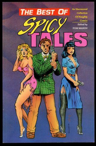 Best Of Spicy Tales - 1st Print - -/90 - 8.0 - Malibu