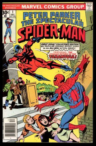 Spectacular Spider-Man - #1 - 12/76 - 9.4 - Marvel