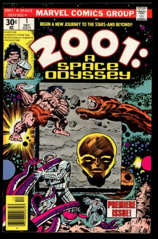2001: A Space Odyssey - #1 - 12/76 - 9.2 - Marvel