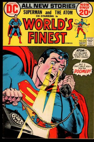 World's Finest Comics - #213 - 08-09/72 - 5.0 - DC
