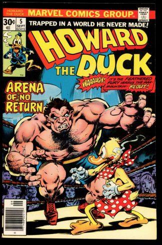 Howard The Duck - #5 - 09/76 - 9.4 - Marvel
