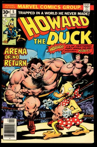 Howard The Duck - #5 - 09/76 - 9.0 - Marvel