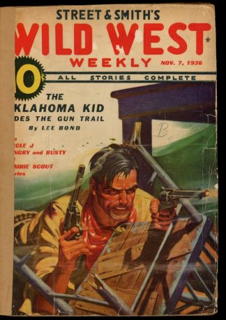 Wild West Weekly - 11/07/36 - Condition: FA - Street & Smith