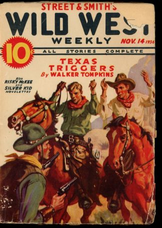 Wild West Weekly - 11/14/36 - Condition: G-VG - Street & Smith