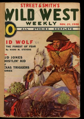 Wild West Weekly - 11/21/36 - Condition: FA - Street & Smith