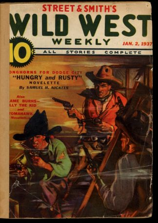 Wild West Weekly - 01/02/37 - Condition: FA - Street & Smith