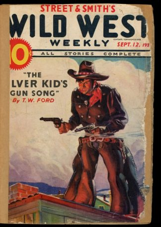 Wild West Weekly - 09/12/36 - Condition: FA - Street & Smith