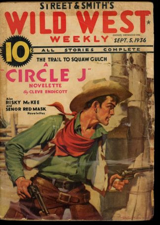 Wild West Weekly - 09/05/36 - Condition: G - Street & Smith