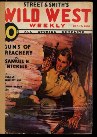 Wild West Weekly - 10/17/36 - Condition: FA - Street & Smith