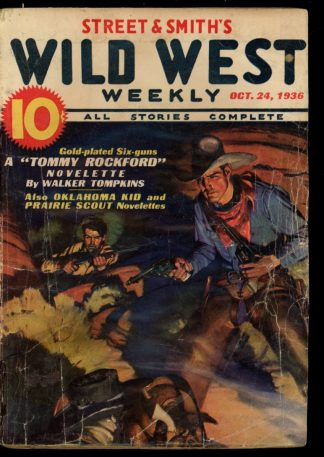 Wild West Weekly - 10/24/36 - Condition: FA - Street & Smith