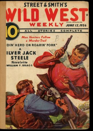 Wild West Weekly - 06/13/36 - Condition: FA - Street & Smith
