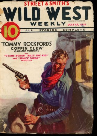 Wild West Weekly - 07/18/36 - Condition: G - Street & Smith