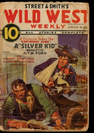 Wild West Weekly - 07/04/36 - Condition: FA - Street & Smith