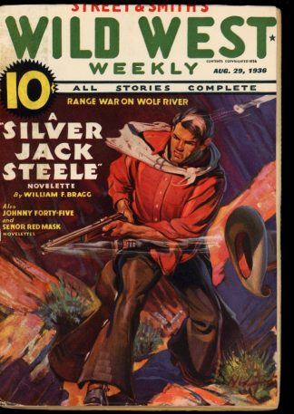 Wild West Weekly - 08/29/36 - Condition: G - Street & Smith