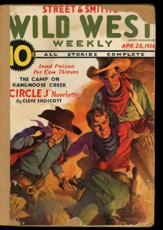 Wild West Weekly - 04/25/36 - Condition: FA - Street & Smith