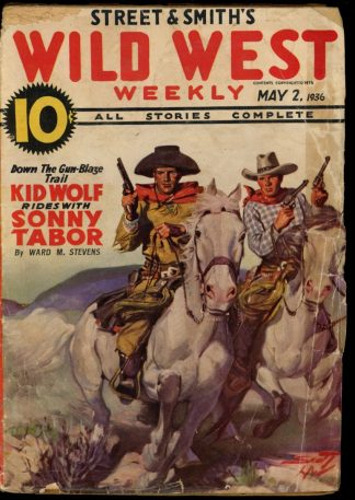 Wild West Weekly - 05/02/36 - Condition: G - Street & Smith