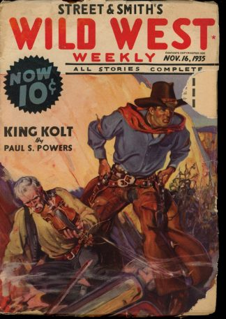 Wild West Weekly - 11/16/35 - Condition: G-VG - Street & Smith