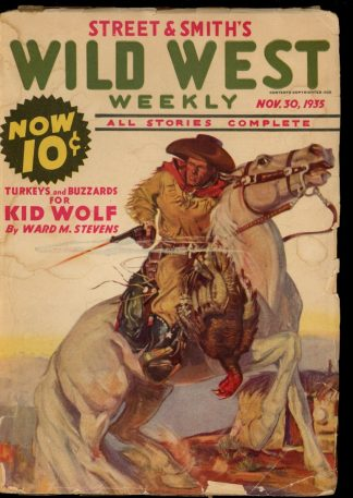 Wild West Weekly - 11/30/35 - Condition: G-VG - Street & Smith