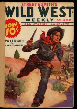 Wild West Weekly - 12/14/35 - Condition: FA - Street & Smith