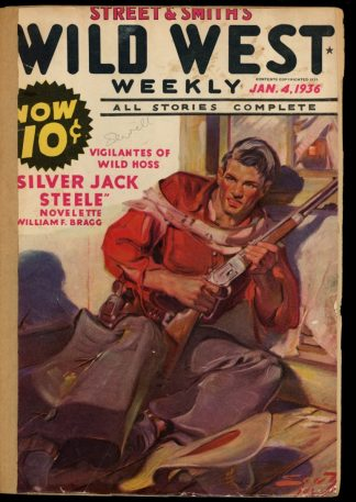 Wild West Weekly - 01/04/36 - Condition: FA - Street & Smith