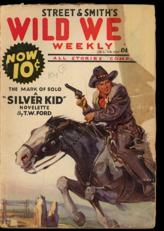 Wild West Weekly - 12/28/35 - Condition: FA-G - Street & Smith