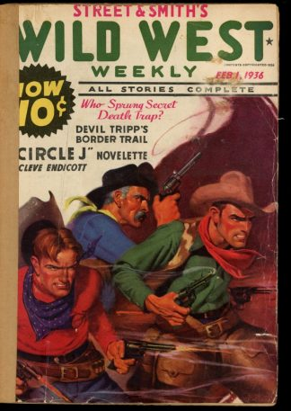 Wild West Weekly - 02/01/36 - Condition: FA - Street & Smith