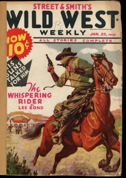 Wild West Weekly - 01/25/36 - Condition: FA - Street & Smith