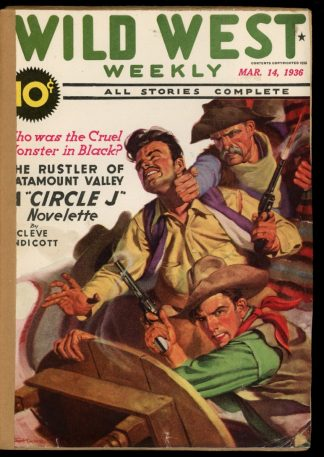 Wild West Weekly - 03/14/36 - Condition: FA - Street & Smith