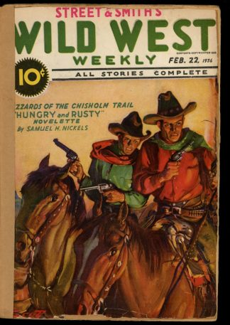 Wild West Weekly - 02/22/36 - Condition: FA - Street & Smith
