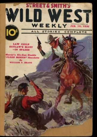Wild West Weekly - 02/15/36 - Condition: FA - Street & Smith