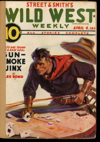 Wild West Weekly - 04/04/36 - Condition: FA - Street & Smith