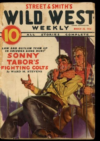 Wild West Weekly - 03/28/36 - Condition: FA-G - Street & Smith