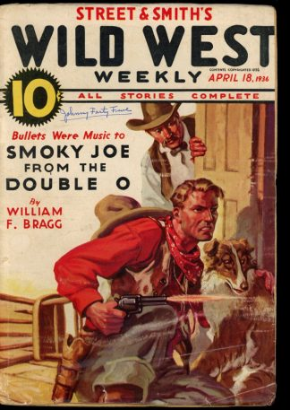 Wild West Weekly - 04/18/36 - Condition: G - Street & Smith