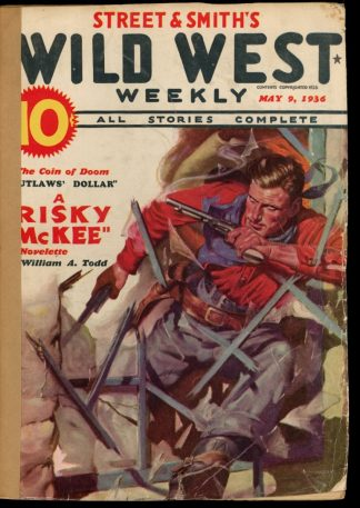Wild West Weekly - 05/09/36 - Condition: FA - Street & Smith