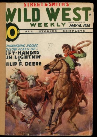 Wild West Weekly - 05/16/36 - Condition: FA - Street & Smith