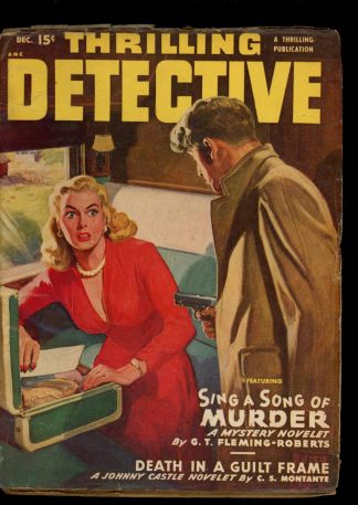 Thrilling Detective - 12/49 - Condition: VG - Thrilling