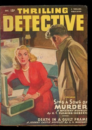Thrilling Detective - 12/49 - Condition: G-VG - Thrilling
