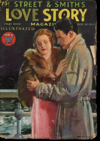 Love Story Magazine - 12/16/33 - Condition: VG - Street & Smith