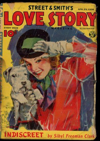 Love Story Magazine - 04/23/38 - Condition: FA - Street & Smith